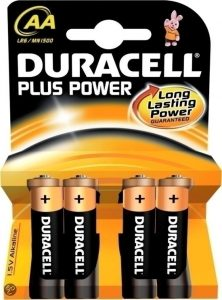 DURACELL PLUS POWER AA 4