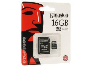 KINSDC4/16GB SD MICRO KINGSTON 16GB