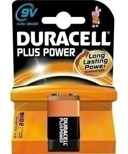 DURACELL PLUS POWER 9V K1