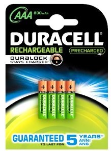 DURACELL REC PRECHARGED AAA 800 K4