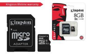 KINSDC10/8GB SD KINGSTON MICRO SDHC