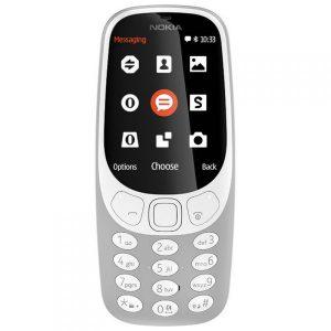 NOKIA 3310 DUAL SIM GREY TELEMOVEL