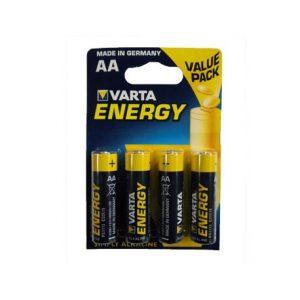 VARTA PILHAS ALC.ENERGY LR06 AA P4