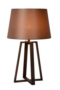 COFFEE Table Lamp E27 D38 H64cm Rusty