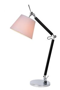 ATY Desk Lamp 1xE27 H47cm Chrome