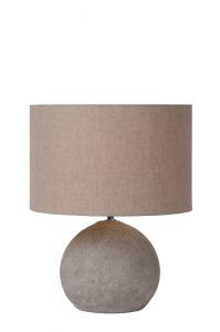 BOYD Table Lamp E27 H35.5 D28cm Taupe