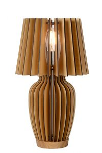 BODO Table Lamp E27 H51 Ø30cm Wood