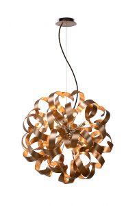 ATOMA Pendat LED 12x G9/4W D60cm Copper