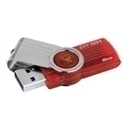 KINDT101G2/8GB PEN KINGSTON 8GB RED