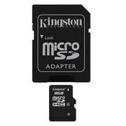 KINSDC4 8GB SD MICRO + ADP SD