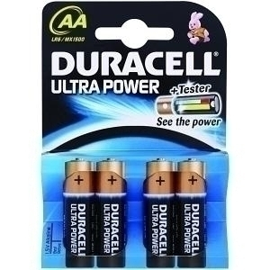 DURACELL ULTRAPOWER CR AL AA4