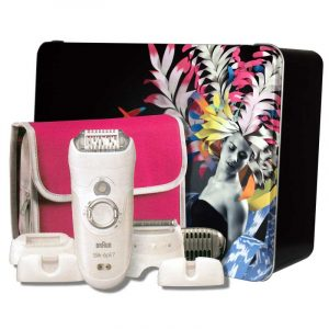 BRAUN SILK EPIL 7561 METAL BOX