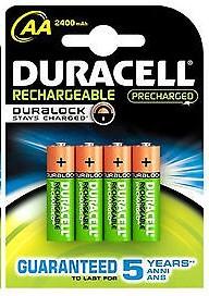 DURACELL REC PRECHAR AA 2400 MAH K4