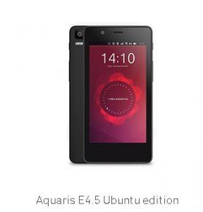 BQ SMARTPHONE AQ E4.5 UBUNTU BB
