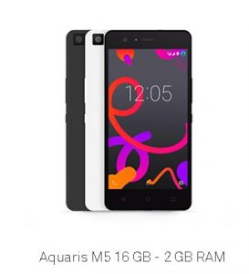 BQ SMARTPHONE M5 FHD 4G BB 16+2GBBB