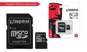 KINSDC10/8GB SD KINGSTON MICRO SDHC