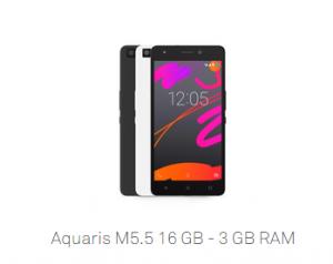 BQ SMARTPHONE AQ M5.5 FHD 4G 16+3GB