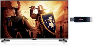 LG43LH510V LED TV FULLHD 300MHZ
