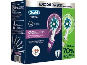 ORALB PRO600 CROSS ACTION DUPLO