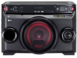 LGOM4560 SISTEMA HIFI CD USB DJ