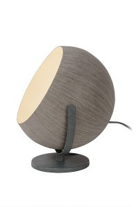 BOLSTAR Table Lamp E27 Ø30 H32cm Grey