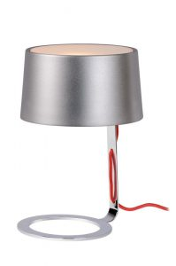 AIKO Table lamp G9 incl D16 H24cm Silver Grey/Chro